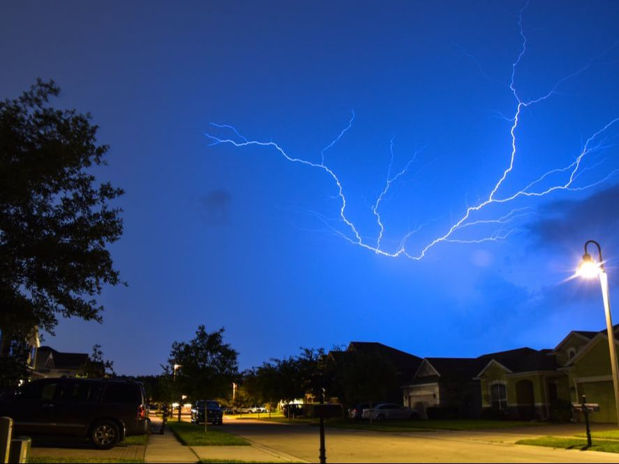It's important take the proper precautions during a lightning storm in order to avoid being struck.
