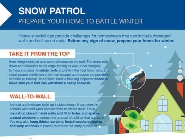 Here are some tips to prepare your home for winter.