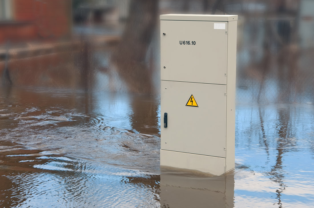 The threat of electrocution during periods of flooding can be extremely high.