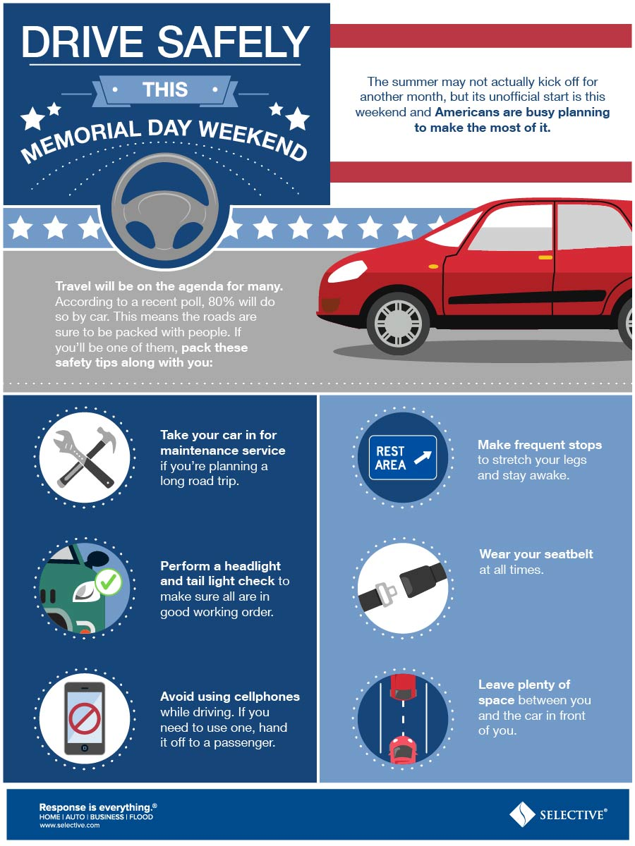 Drive Safely this Memorial Day Weekend