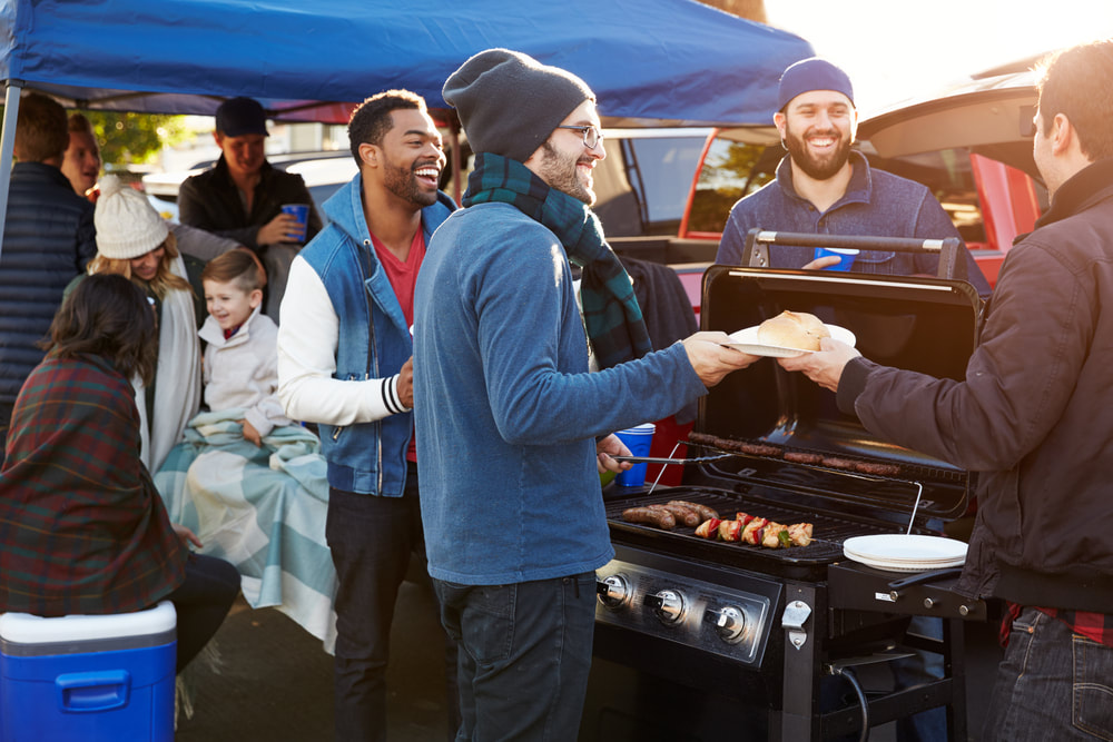 To help keep you safe, try these six tailgating safety tips when heading for the stadium.