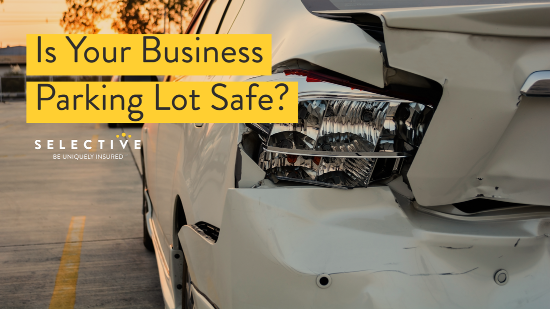 Business owners may potentially be held legally liable if an accident occurs on a company-owned parking lot.