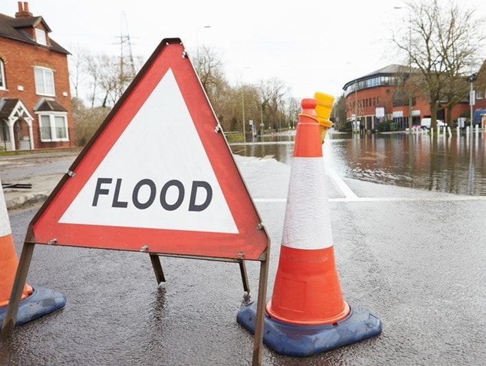The impact of a flood doesn't have to mean the end for your business.