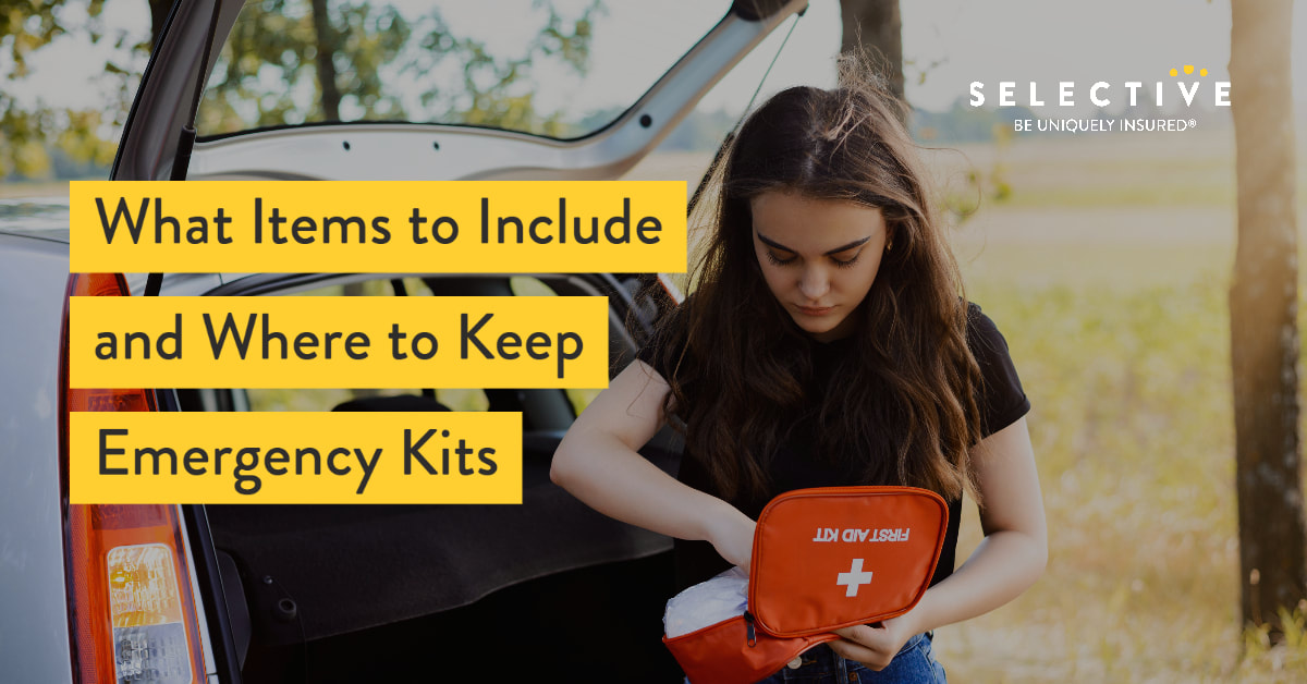Emergency Kits: 5 Key Categories of Items to Include What (& Where to Keep Them)