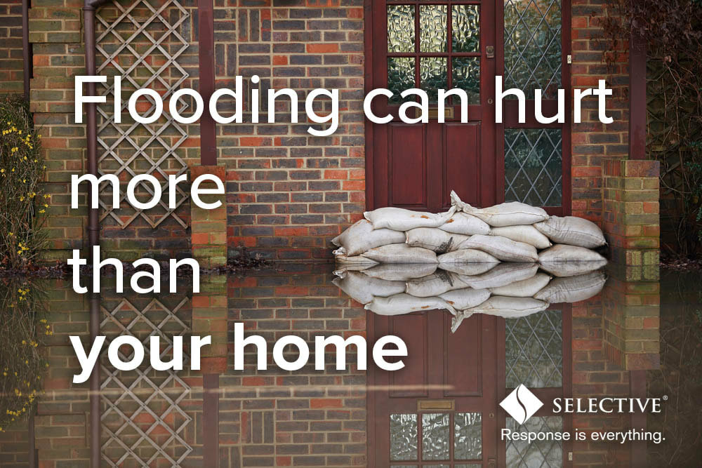 Flooding can have a devastating impact beyond water damage to your property.