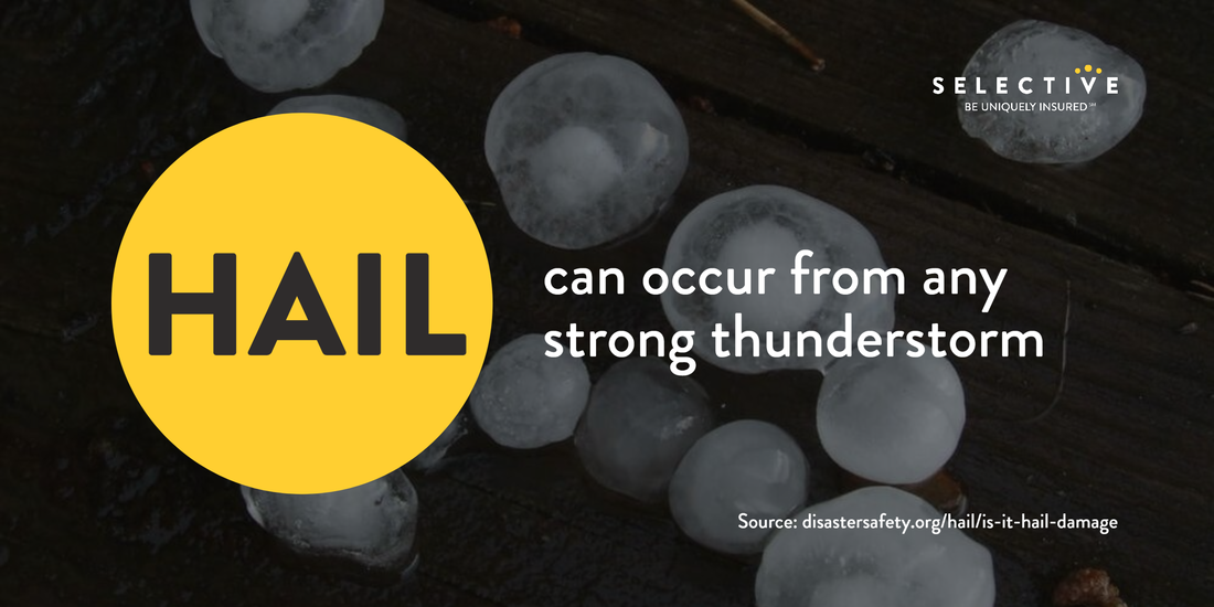 You may not be able to prevent hail, but you can do your part to prepare for it.