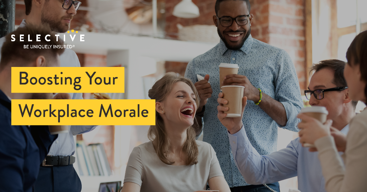 Boosting Your Workplace Morale