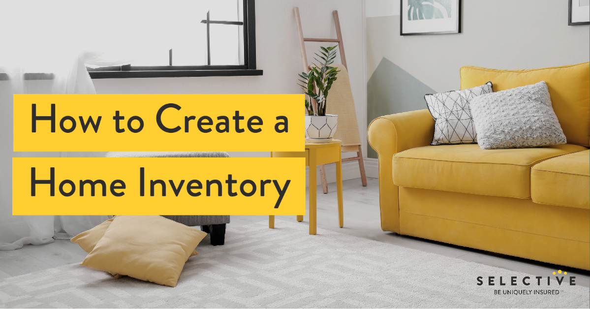 The main thing to remember when creating your home inventory list is to take your time and not get overwhelmed.