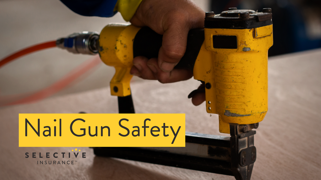 Nail gun accidents are common and potentially dangerous incidents that can occur on worksites.