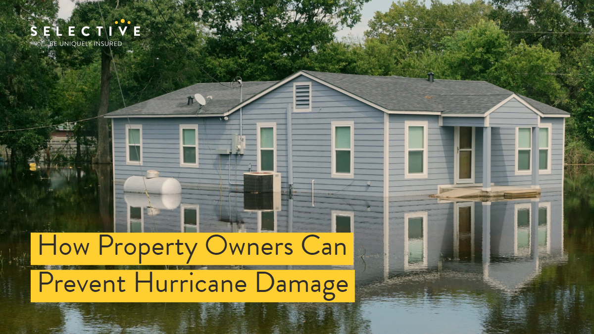 Hurricanes are some of the most costly and devastating natural disasters, but there are preventative steps one can take to reduce the severity of hurricane damage to one's property.