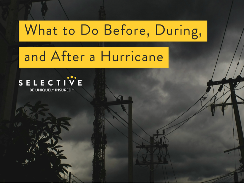 Hurricanes can leave you vulnerable to major losses, as most home and business insurance policies will not cover flooding from certain storm circumstances.