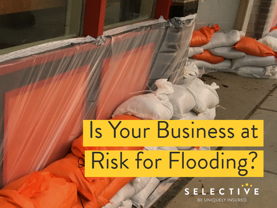 Consider these points when evaluating the risk of flood for your business.