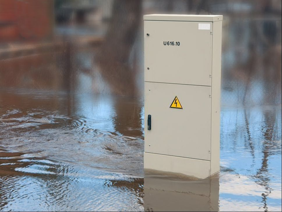​As water is a natural conductor, the risk of an electrical shock is heightened any time water and electricity are in close proximity.