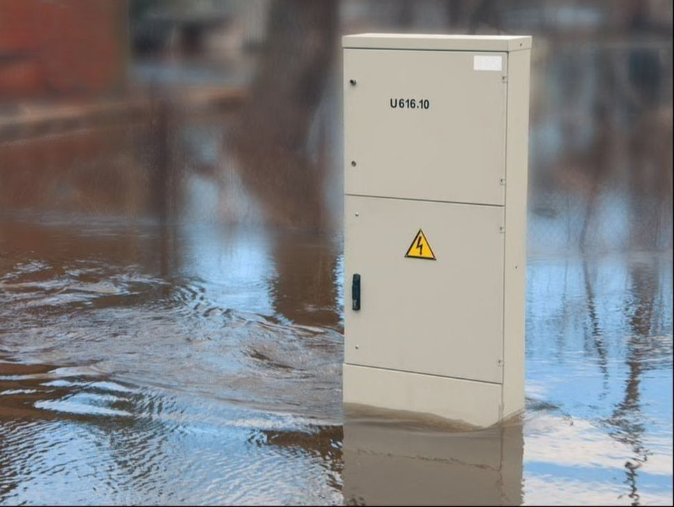 the threat of electrocution during periods of flooding extremely high.