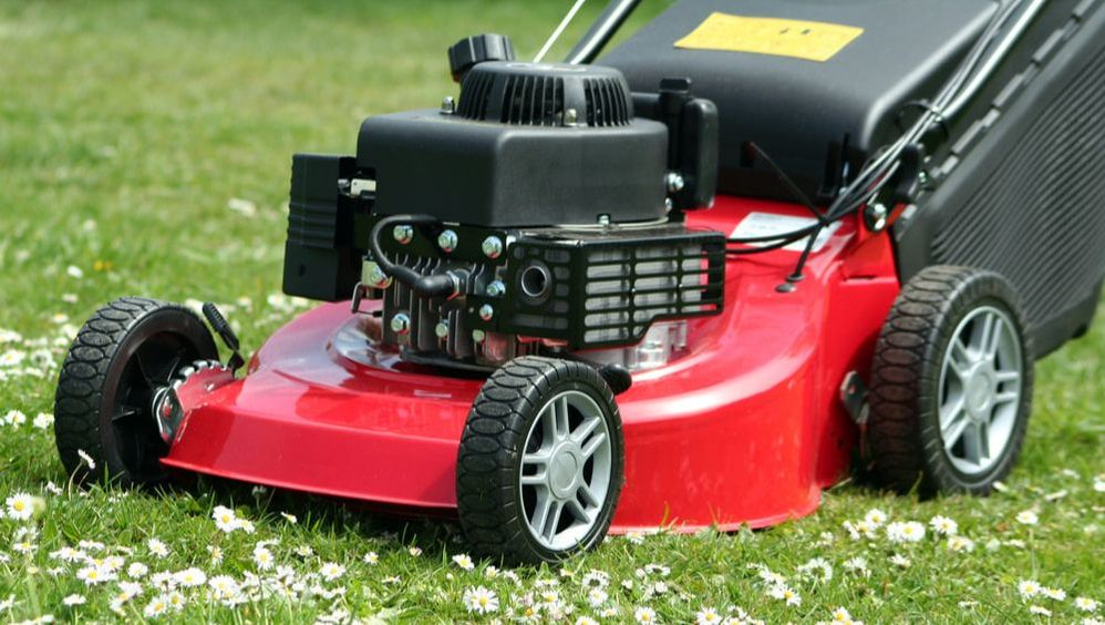 Most lawn care equipment injuries can be avoided with safety procedures and adequate personal protection equipment.