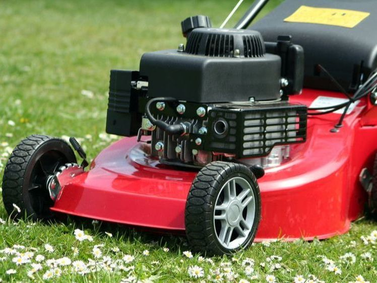 Lawn care is a necessary chore that requires undivided attention to safety.