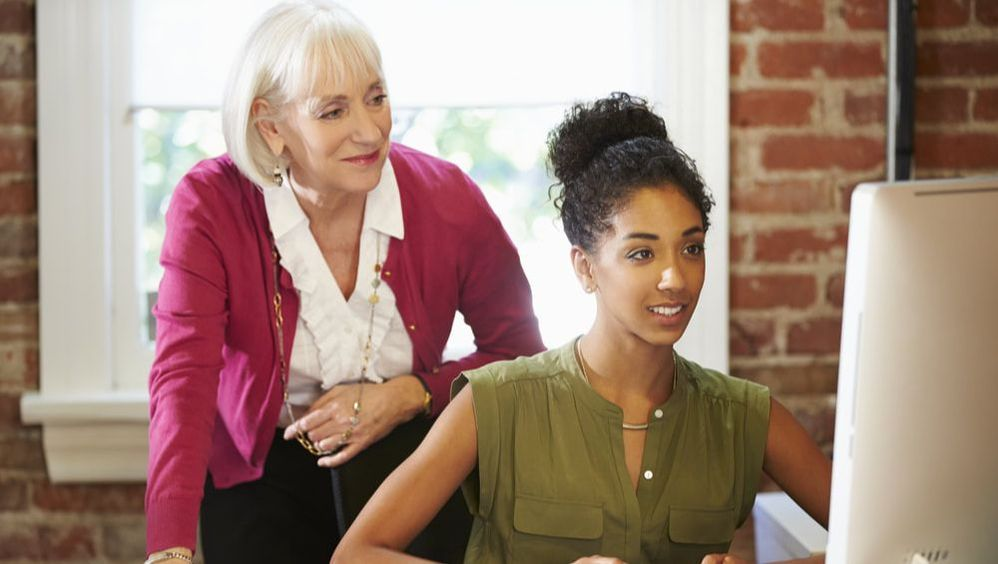 Mentoring programs can help lead to more job satisfaction.