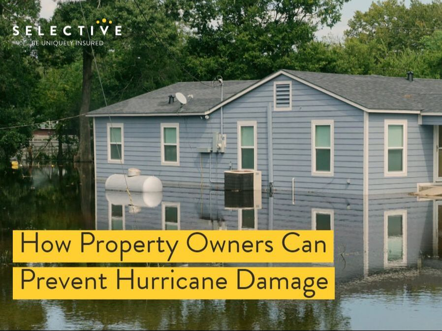 Discover how you can lessen the impact of a hurricane on your property.