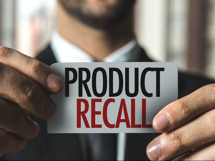 Here's key information about insurance coverage for the costs and process of a product recall.
