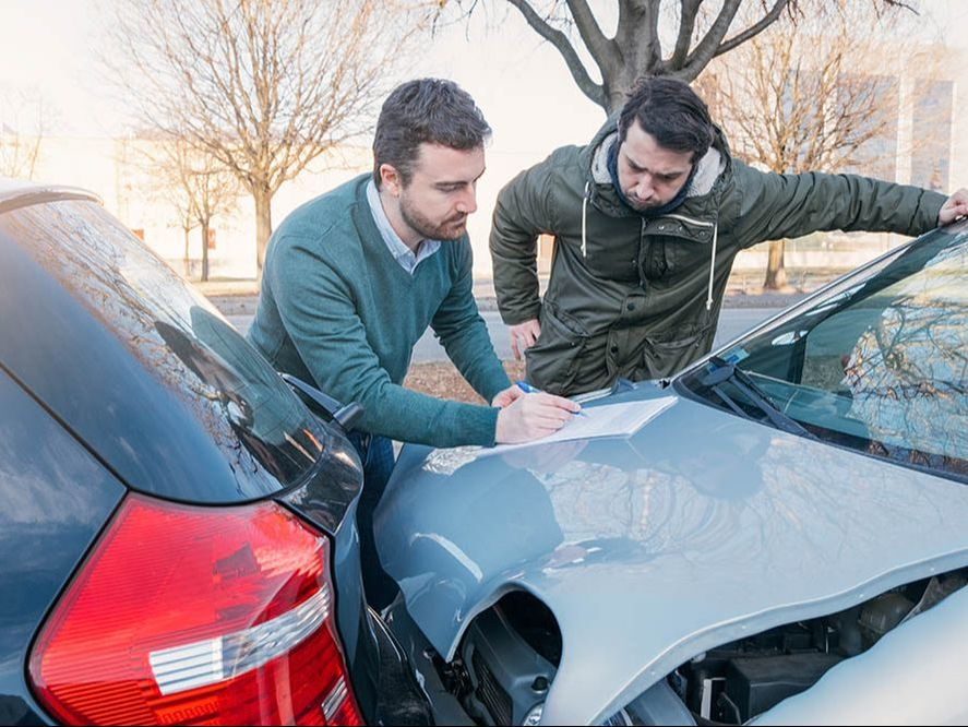 Here are six steps to take if you are involved in an accident.