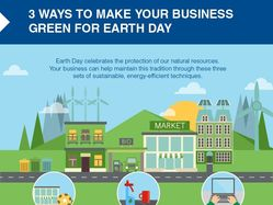 Earth Day celebrates the protection of our natural resources. Your business can help maintain this tradition through these three sets of sustainable, energy-efficient techniques.