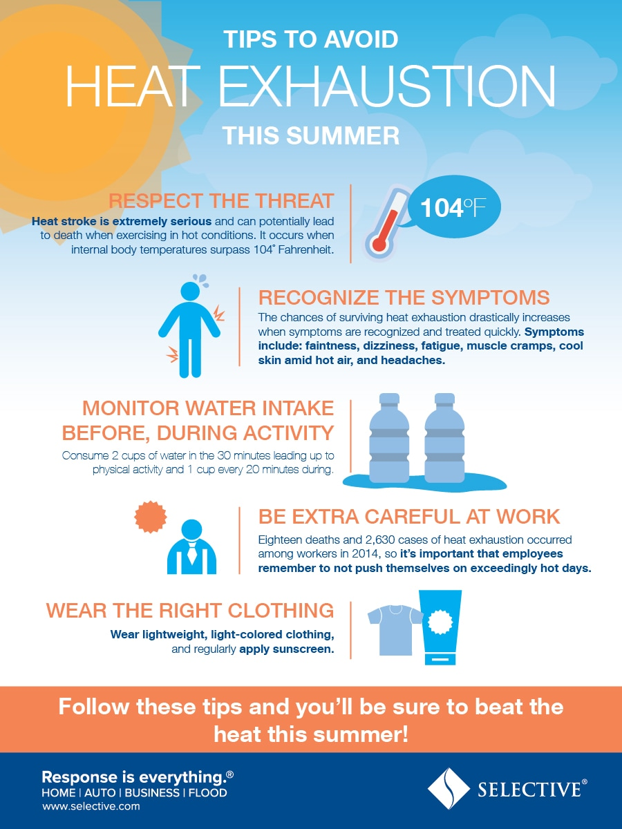 Follow these tips and you'll be sure to beat the heat this summer!