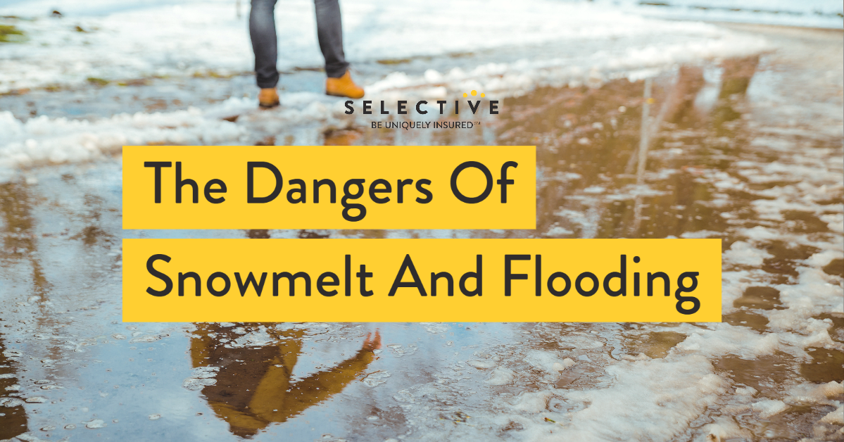 The Dangers of Snowmelt and Flooding